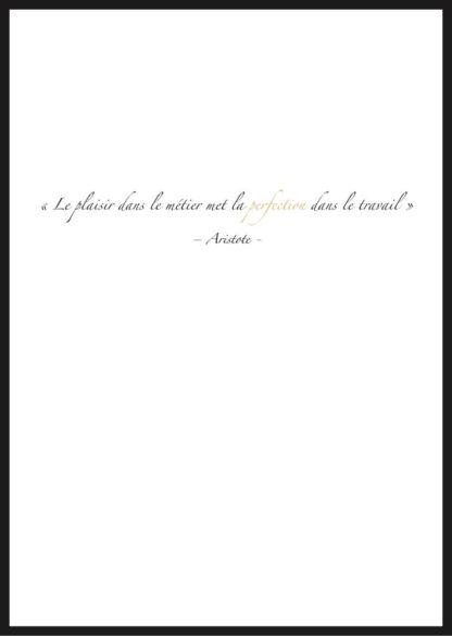 affiche citation Aristote