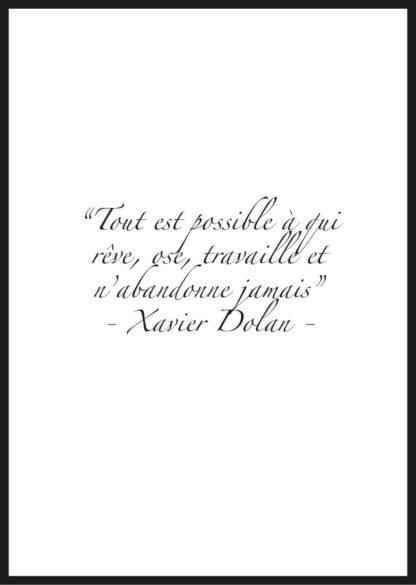 Citation Motivation Xavier Dolan