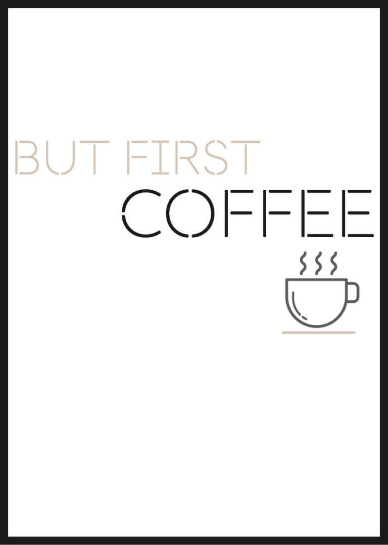 Affiche Café