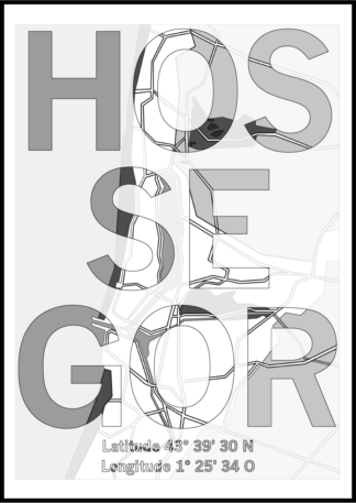 Affiche Hossegor