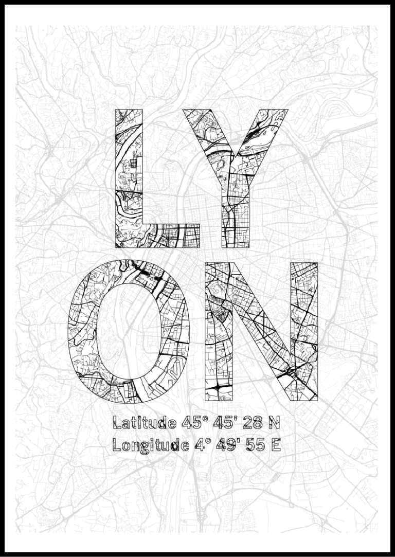 Affiche Lyon