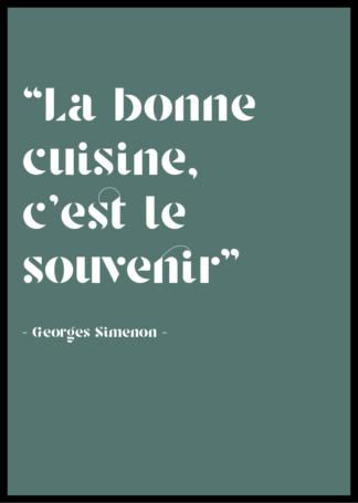 Citation Georges Simenon