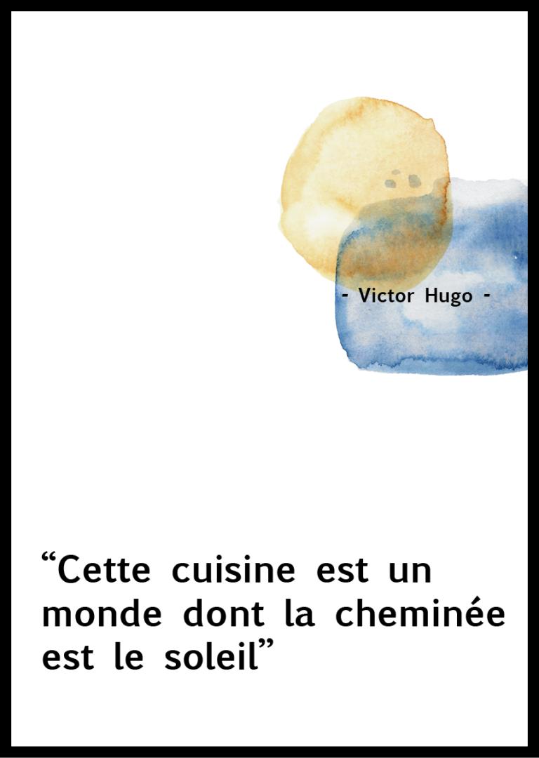 Citation Cuisine Victor Hugo