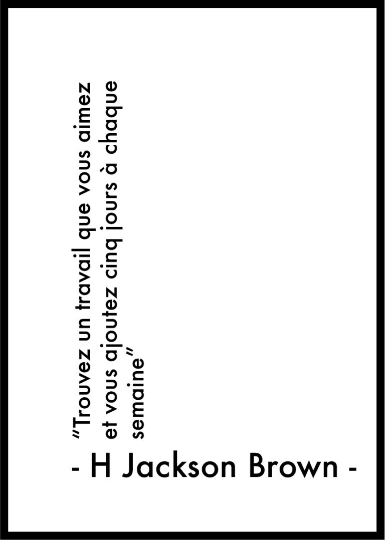 Affiche citation Jackson Brown